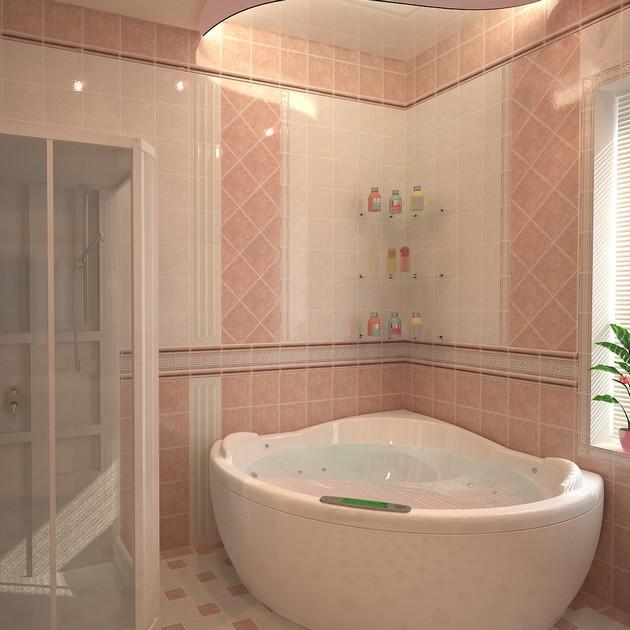Ремонт ванной комнаты пол своими руками