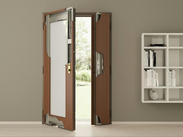 Стеклянные двери своими руками
