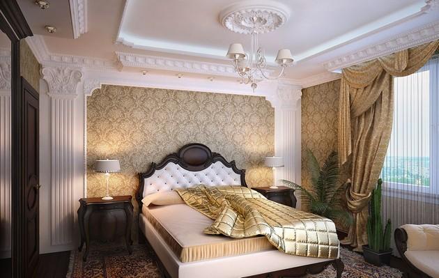 Классика спальня дизайн