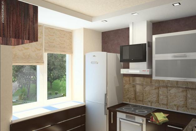 Малая кухня интерьер