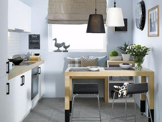 если вы предпочитаете светлые тона, то и дизайн кухни выбрайте светлый
