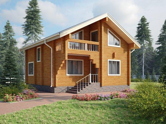 Чем хорош дом из клееного бруса