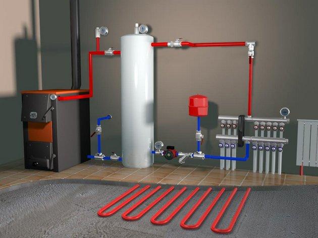Особенности организации отопления в гараже
